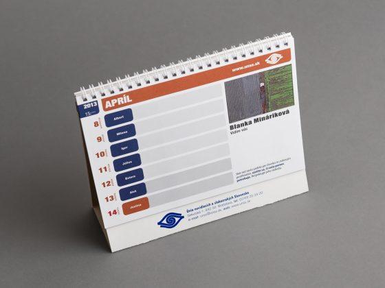 Výroba stolových kalendárov | Polygrafické centrum